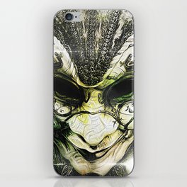Venice -- A Fractal Dream in the City of Masks iPhone Skin