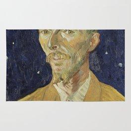 Eugene Boch by Vincent van Gogh Rug