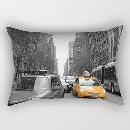 NY´s cab Rectangular Pillow