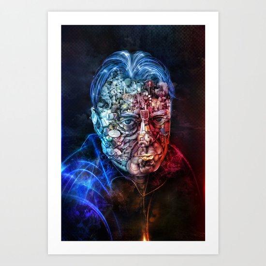 Christopher Hitchens Art Print