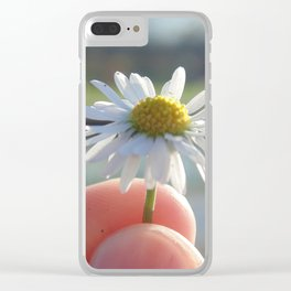 Tiny Daisy Clear iPhone Case
