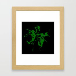 splashing Framed Art Print