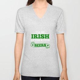 St Patrick's Day saying Ireland Gift Unisex V-Neck