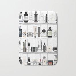 The Black & White shelf Bath Mat