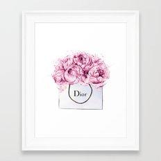 Fashion print,Wall Decor, Poster,Lips eyelashes print,Beauty print,Pink Lips Makeup Print prints mak Framed Art Print