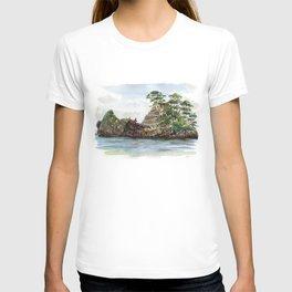 Whangapoua island , Coromandel peninsula , New Zealand T-shirt