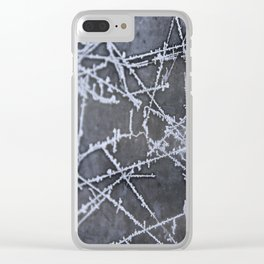 Texture #8 Ice Clear iPhone Case