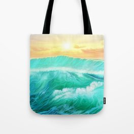 Light in a storm Tote Bag