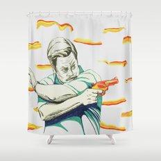 Ron Swanson Shower Curtain