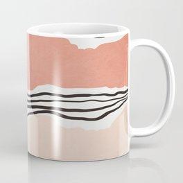 Modern irregular Stripes 01 Coffee Mug