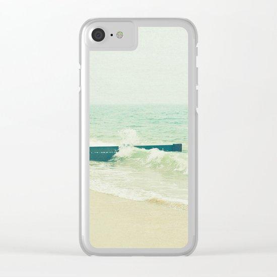 Sea Groyne Clear iPhone Case
