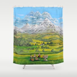 The Sound of Music Shower Curtain