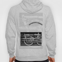 locomotive wheels Hoody