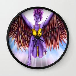 Harpie Fantasy Wall Clock