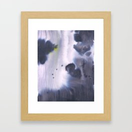 November Clouds Framed Art Print