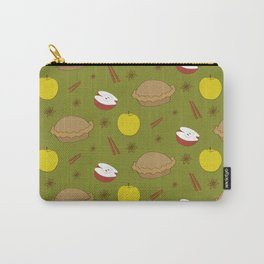 Sweet pattern with apple and cinnamon and pie Carry-All Pouch