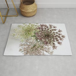 Dill Weed Flowers Rug