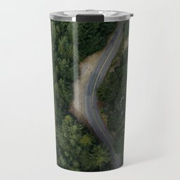 NATURE - PHOTOGRAPHY - FOREST - HIGHWAY - ROAD - TRIP - TREES Travel Mug