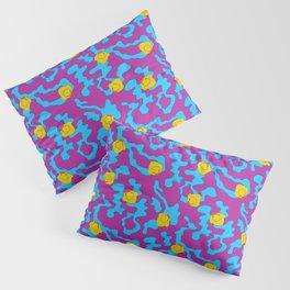 Rubber ducks on purple Pillow Sham