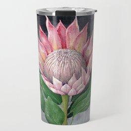 Protea Flower Painting Travel Mug
