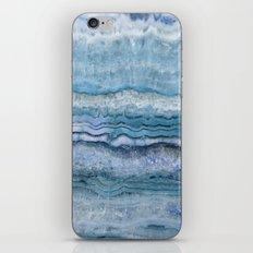 Mystic Stone Aqua Blue iPhone & iPod Skin