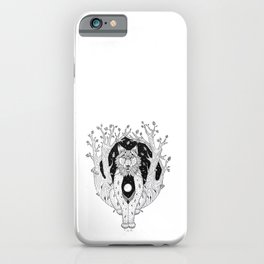 The Keepers of The Forest - Lynx iPhone Case