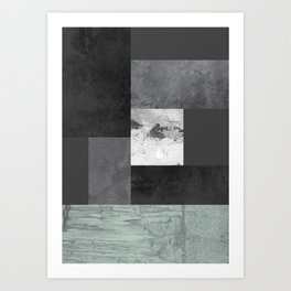 Light from the end of the tunnel Art Print