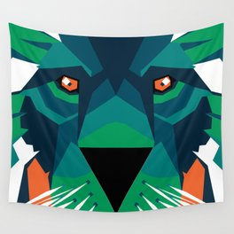Aurora Lion Wall Tapestry