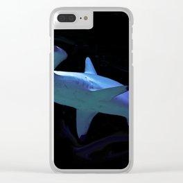 Watercolour Hammerhead Shark Clear iPhone Case