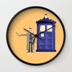 Retro Who Wall Clock