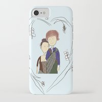 outlander iPhone & iPod Cases featuring Outlander by Sarcastic Savage