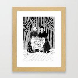 Cabbage soup Framed Art Print