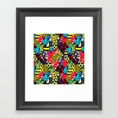 Exotic Frogs Framed Art Print