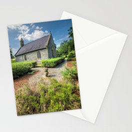 17th Century Welsh chapel  Stationery Cards