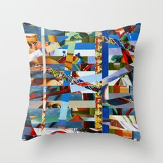 Michael (stripes 9) Throw Pillow