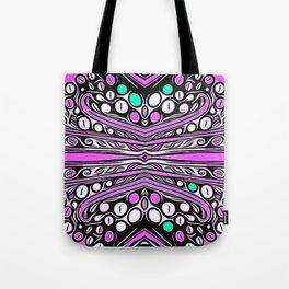 Pink Bubbles Tote Bag