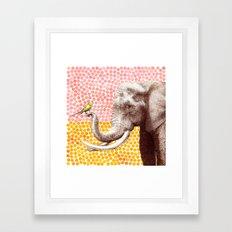New Friends 2 by Eric Fan and Garima Dhawan Framed Art Print