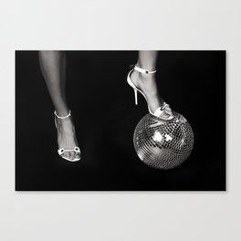 Disco Lies Canvas Print