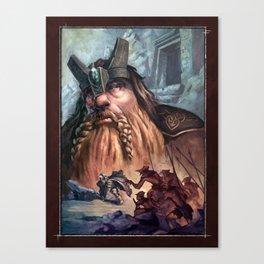 Kingdom of the Felsen Canvas Print