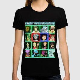 Rick Selects His Character T-shirt