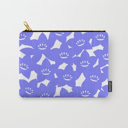 Bellflower pouch - purple Carry-All Pouch