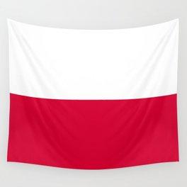 Poland flag emblem Wall Tapestry