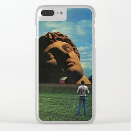 Midwestern Mythology Clear iPhone Case
