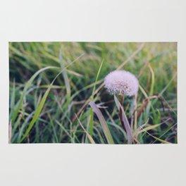 Dandelion Seeds Rug
