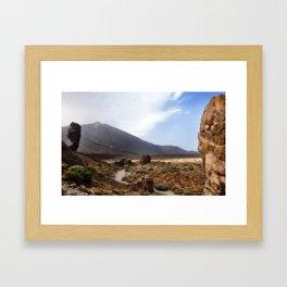 Teide Framed Art Print