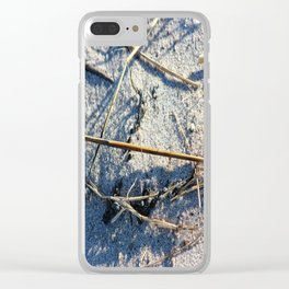 Shadows In The Sand Clear iPhone Case