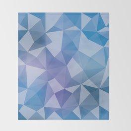 Geometric pyramids V2 Throw Blanket