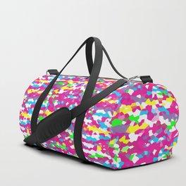 Retro Scribble Duffle Bag