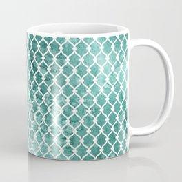 Emerald Trellis Pattern Coffee Mug