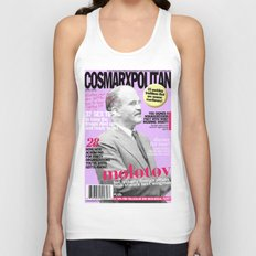 COSMARXPOLITAN, Issue 17 Unisex Tank Top